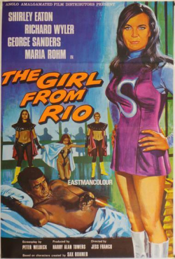 The girl from rio 1969 a
