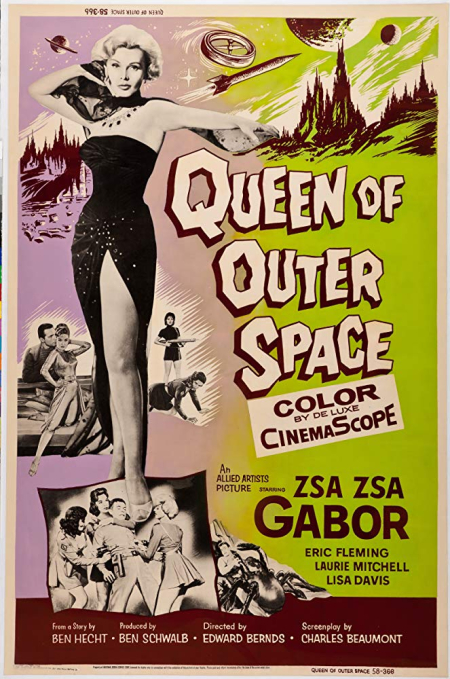 Queen of outer space 1958 c