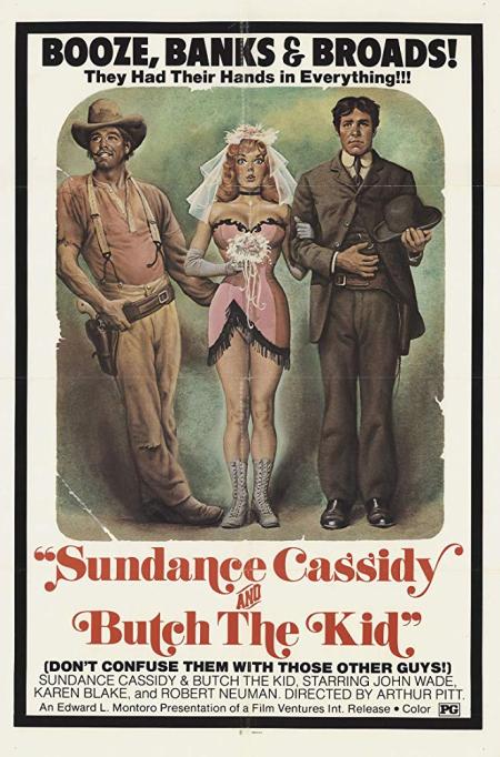 Sundance Cassidy And Butch The Kid 1969