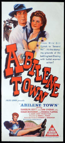 Abilene town 1946 did you know
