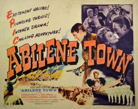 Abilene town 1946 a