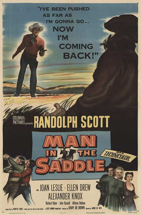 Man in the saddle 1951
