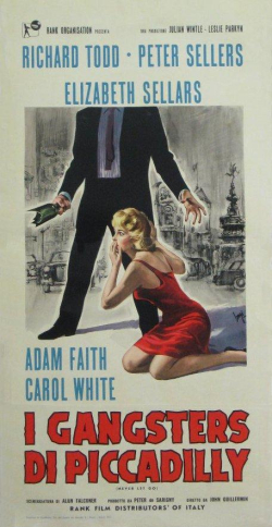 Never Let Go 1960 foreign poster
