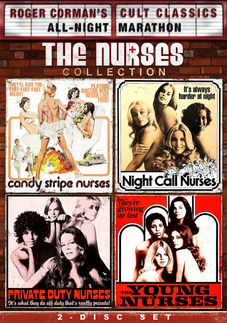 Roger corman the nurses collection