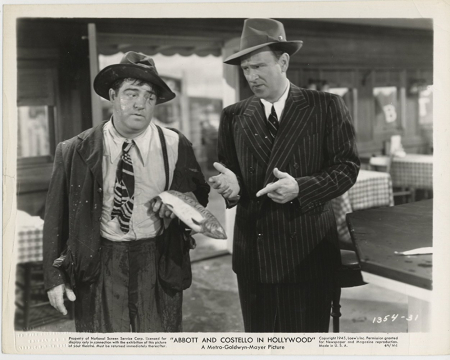 Abbott And Costello In Hollywood 1945 c