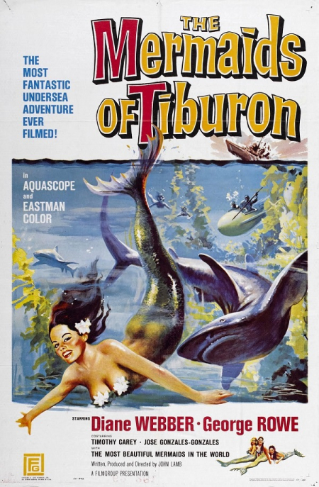 The Mermaids of Tiburon 1962 a