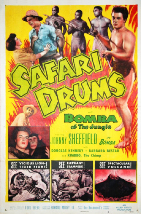 Safari Drums 1953 a