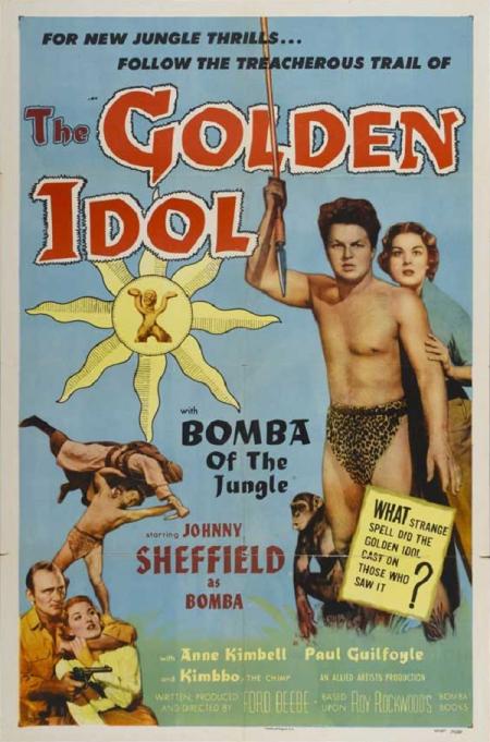 The Golden Idol 1954 a