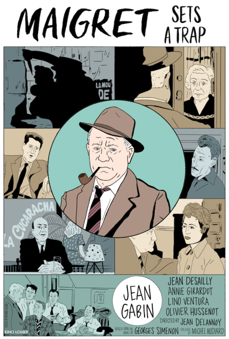Maigret Sets A Trap 1958 a