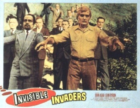 Invisible invaders lobby