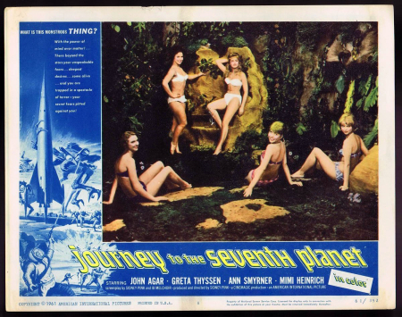 Journey To The Seventh Planet 1962 a