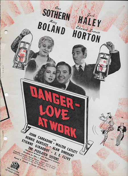Danger - love at work 1937 b