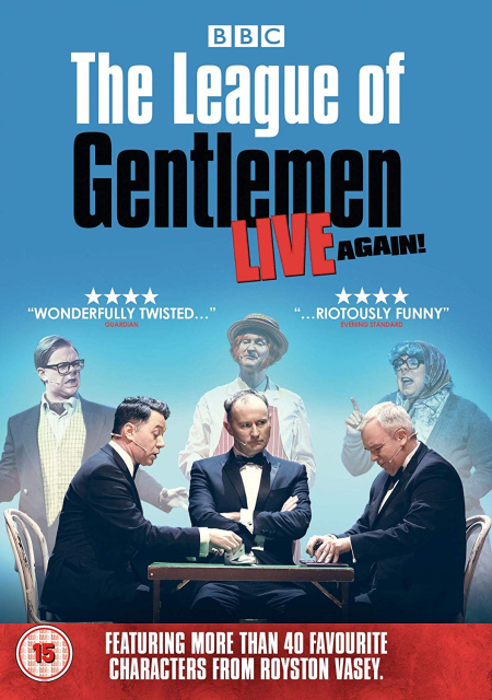 The League Of Gentlemen Live Again 2018 a