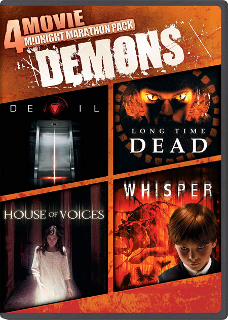 DEMONS 4 Movie Midnight Marathon Pack