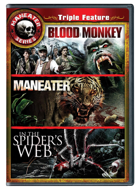 Maneaters triple feature bloody monkey