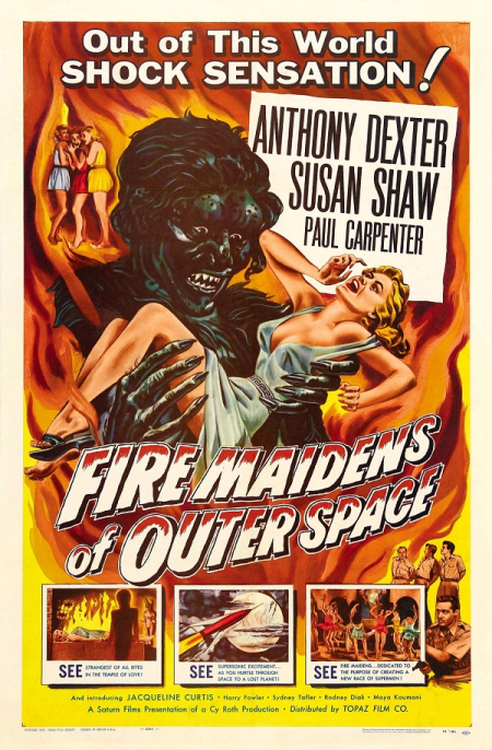 Fire maidens from outer space 1956