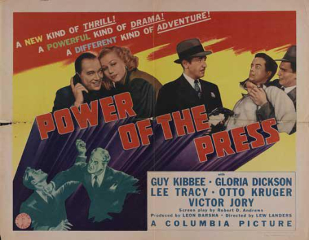 Power Of The Press 1943 d