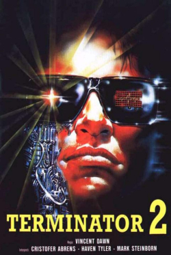 Shocking dark - terminator 2 cover