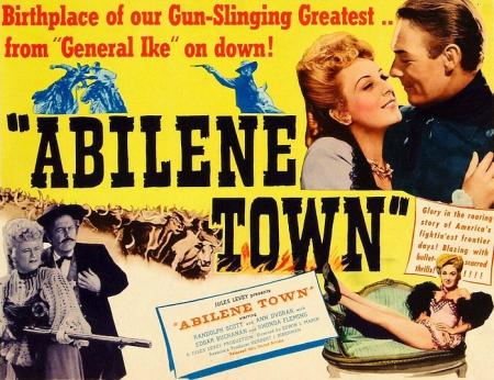 Abilene town 1946 c