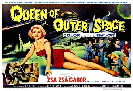 Queen of outer space 1958 d