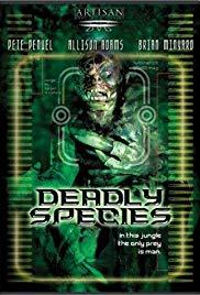 Deadly species 2002
