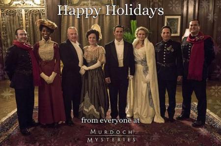 Murdoch mysteries Once Upon A Murdoch Christmas cast