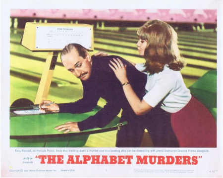 The alphabet muders 1965 a
