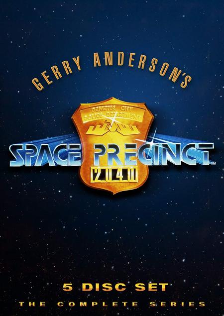 Space precinct 2040 dvd