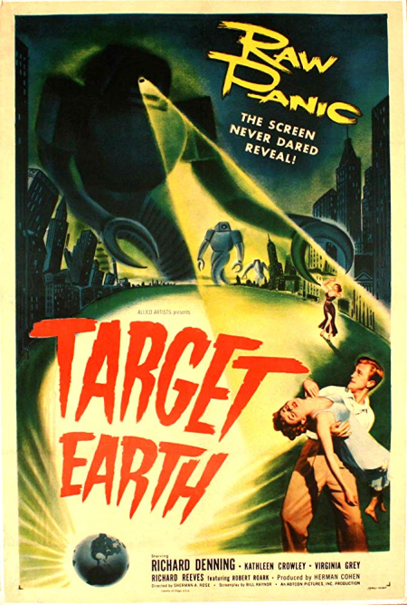 Target earth 1954 a