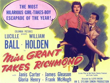 Miss grant takes richmond 1949 c