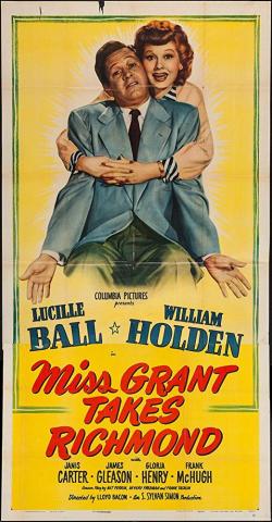 Miss grant takes richmond 1949