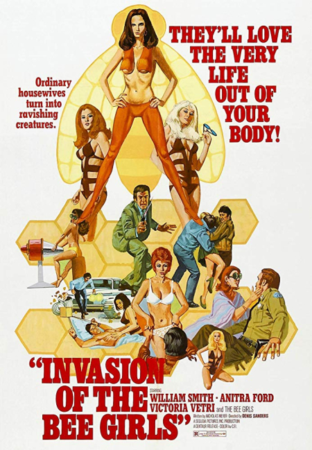 Invasion of the bee girls 1973 2018 post