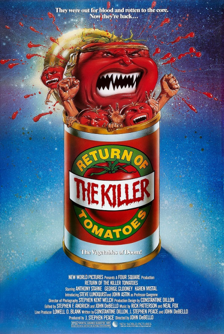 Return Of The killer Tomatoes 1988 a