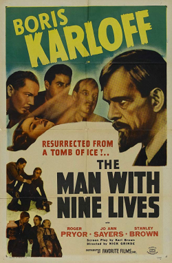 The Man With Nine Lives 1940 f