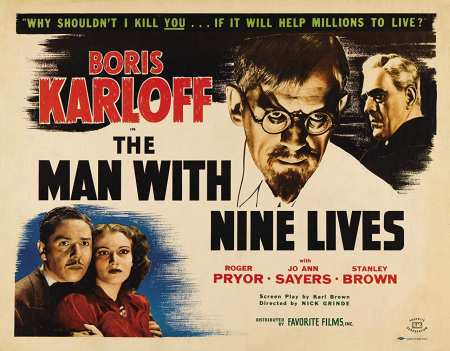 The Man With Nine Lives 1940 d
