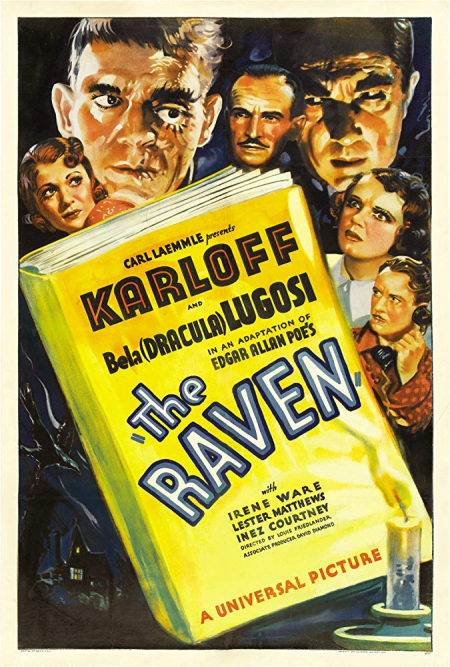 The raven 1935 a
