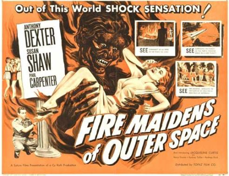 Fire maidens from outer space 1956 b