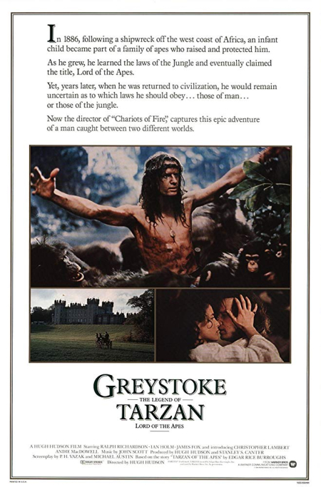 Greystoke The Legend Of Tarzan Lord Of The Apes 1983 b