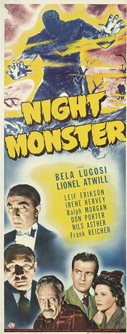 Night Monster 1942 c