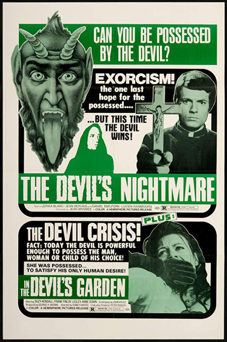 The devil's nightmare 1971 a