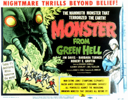Monster From Green Hell 1957 d