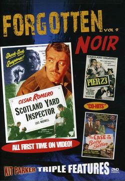 Forgotten noir volume 9