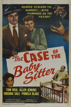The case of hte babysitter 1947