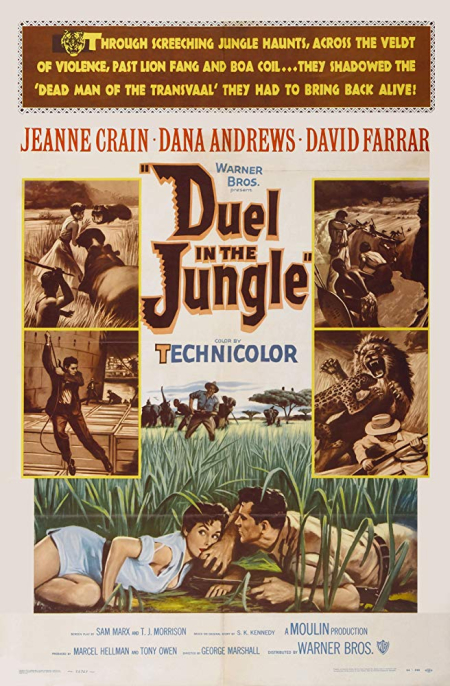 Duel In The Jungle 1954 b