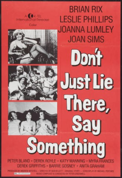 Don't Just Lie There  Say Something 1974 c