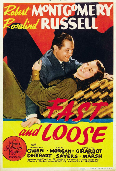 Fast And Loose 1939 c