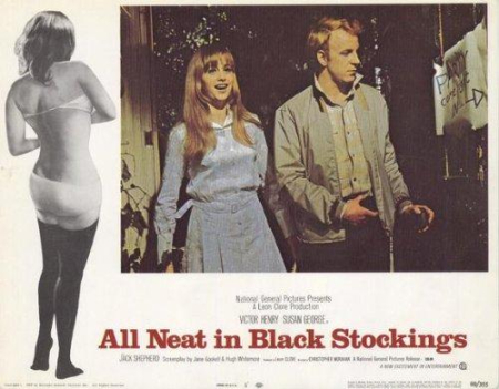 All neat in black stockings 1969 d