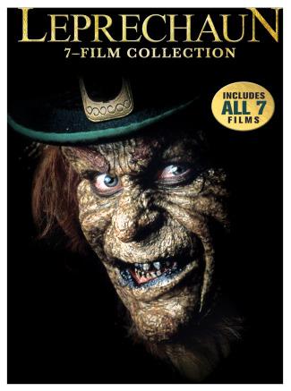 Leprechaun 7 film dvd set