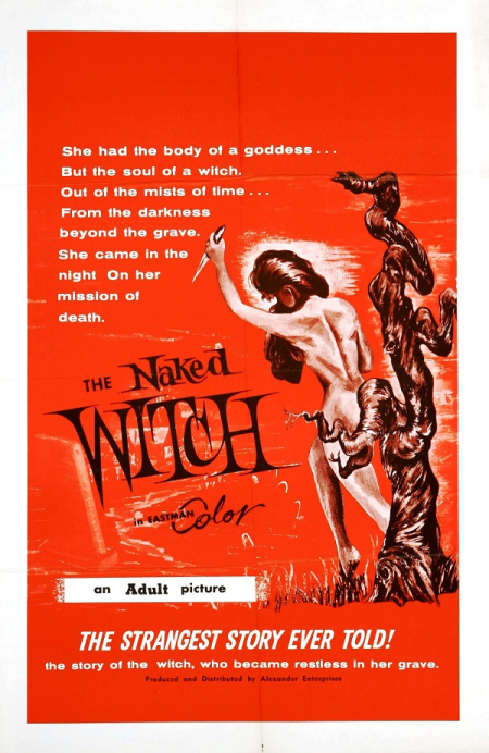 The naked witch 1961