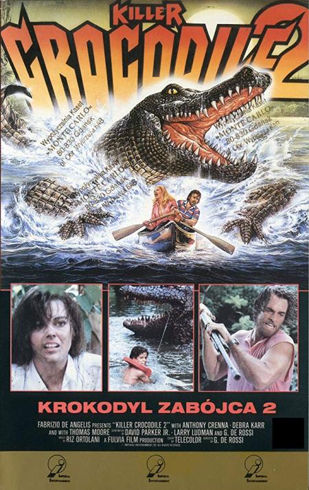 Killer crocodile 2 1990